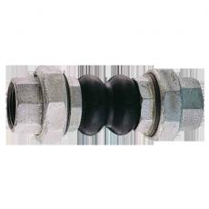КОМПЕНСАТОР РЕЗИНОВЫЙ (ВИБРОВСТАВКА) РЕЗЬБОВОЙ GENEBRE тип 2830